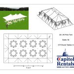 Pole Tent 20x40