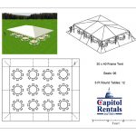 Frame Tent 30x40