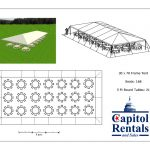 Frame Tent 30x70