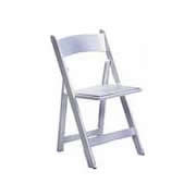 White Folding Chair, Padded $2.50/day $7.50/week